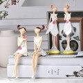 2 шт./компл.  милые фигурки Ангела из смолы для девочек  свадебные фигурки феи  украшение для дома и офиса  креативные подарки на день рождения...