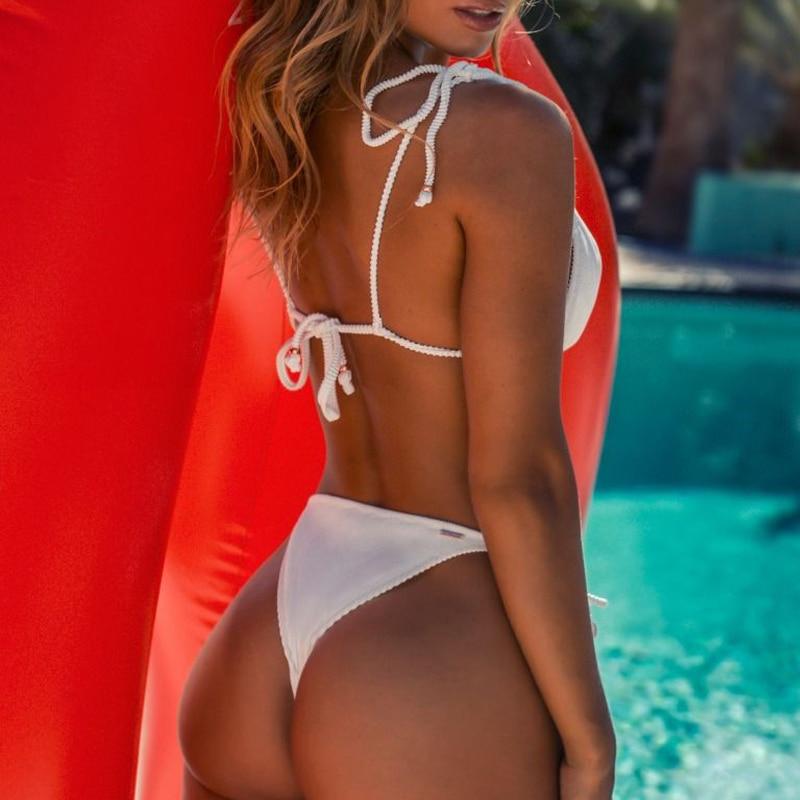 HTB1vABEXjzuK1RjSspeq6ziHVXa2 Bikinx Triangle bikini micro two-piece suit String swimsuit female Sexy red swimwear women 2019 bathing suit Brazilian biquini