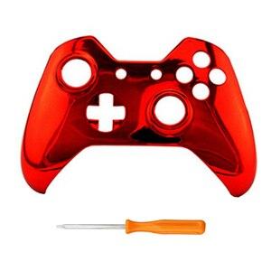 Image 2 - Peau de couverture de coque de boîtier avant pour les jeux xbox one pièces de rechange de boîtier supérieur compatibles pour le contrôleur xbox one Elite