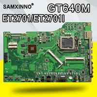 ET2701I Motherboard GT640M LGA1155 DDR3 For ASUS ET2701I ET2701 laptop Motherboard ET2701I Mainboard ET2701I Motherboard test ok