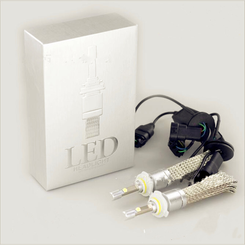New 80W/SET 6000K White CR XHP50 Chips Car LED HeadLight Bulb Kit 40W 4800LM H1 H3 H4 H7 H8 H11 H13 9005 HB3 9006 HB4 9004 9007