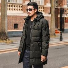 Мужское хлопковое пальто толстое теплое большого размера со