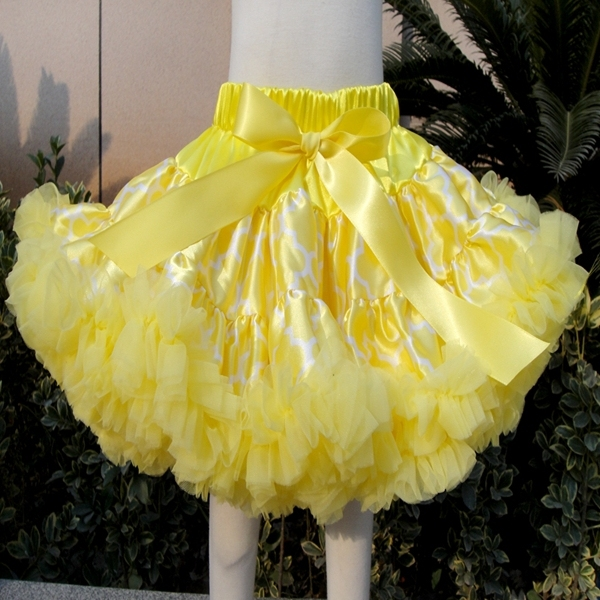 girls colorful skirt with ribbons girl ball gown skirt Children's Clothing baby girl tutu skirt tutu pettiskirt PETS-163
