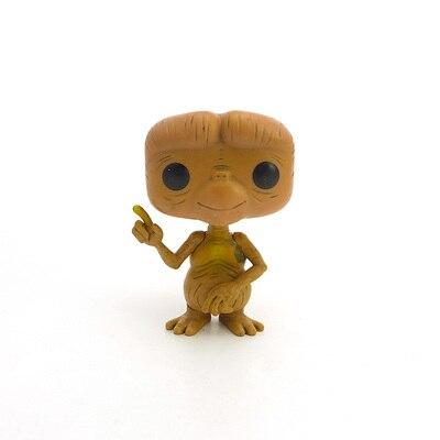 Original Funko POP Imperfect ET The Extra Terrestrial Figure Alien Doll Vinyl Figure Collectible Model Toy Cheap No Box