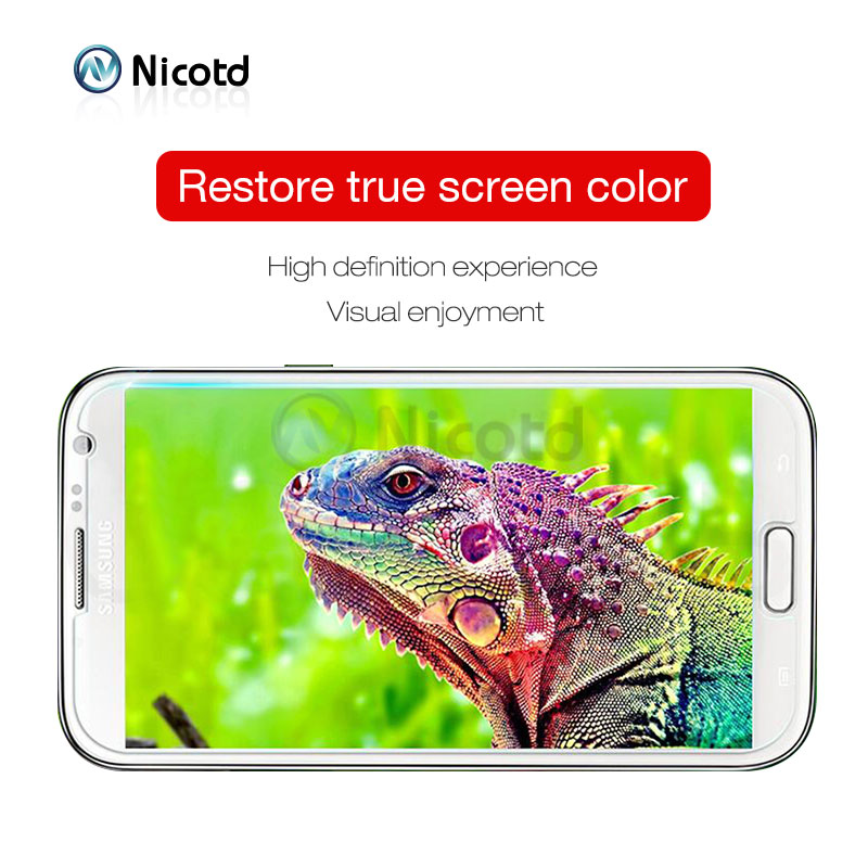 Nicotd 9H Clear Tempered Screen Protector Glass Film For Samsung Galaxy Models 5