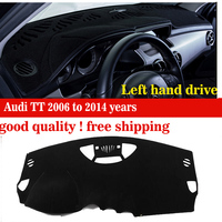 New arrival dashboard protection pad For Audi TT 2006 to 2014 years Car dashboard avoid light pad instrument platform