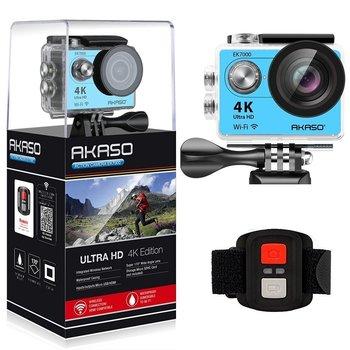 AKASO EK7000 macchina fotografica di Azione Ultra HD 4 K WiFi 1080 P/60fps 2.0 LCD 170D lente Casco Cam Impermeabile pro Macchina Fotografica di Sport