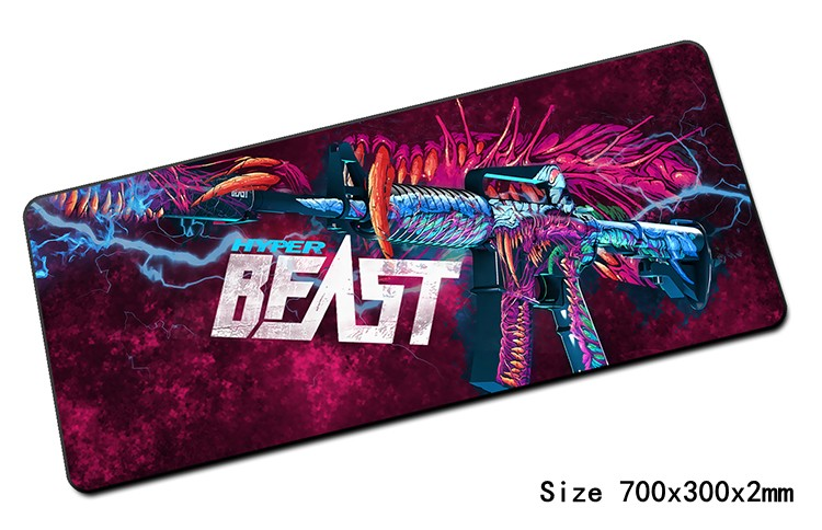 cs go mouse pad Fashion 700x300mm gaming mousepad gamer mouse font b mat b font cheapest