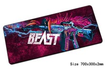 cs go mouse pad Fashion 700x300mm gaming mousepad gamer mouse mat cheapest pad keyboard computer padmouse laptop play mats(China)