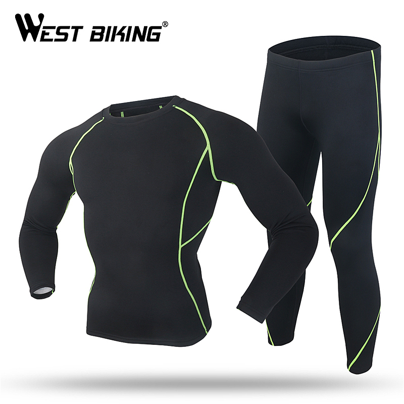 WEST BIKING Bicycle Men's Long Sleeves Jersey Set MTB Sport Outfits Thermal Ciclismo Cycling Jersey Sets Bike Bicycle Clothing donen summer short sleeves bicycle cycling set cycling jersey bib shorts sets man jacket mtb bike bicycle ciclismo