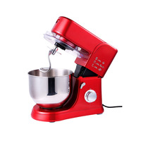 5.5L Electric Chef Home Kitchen Cooking Food Stand Mixer Cake Dough Bread Mixer Machine 1000W