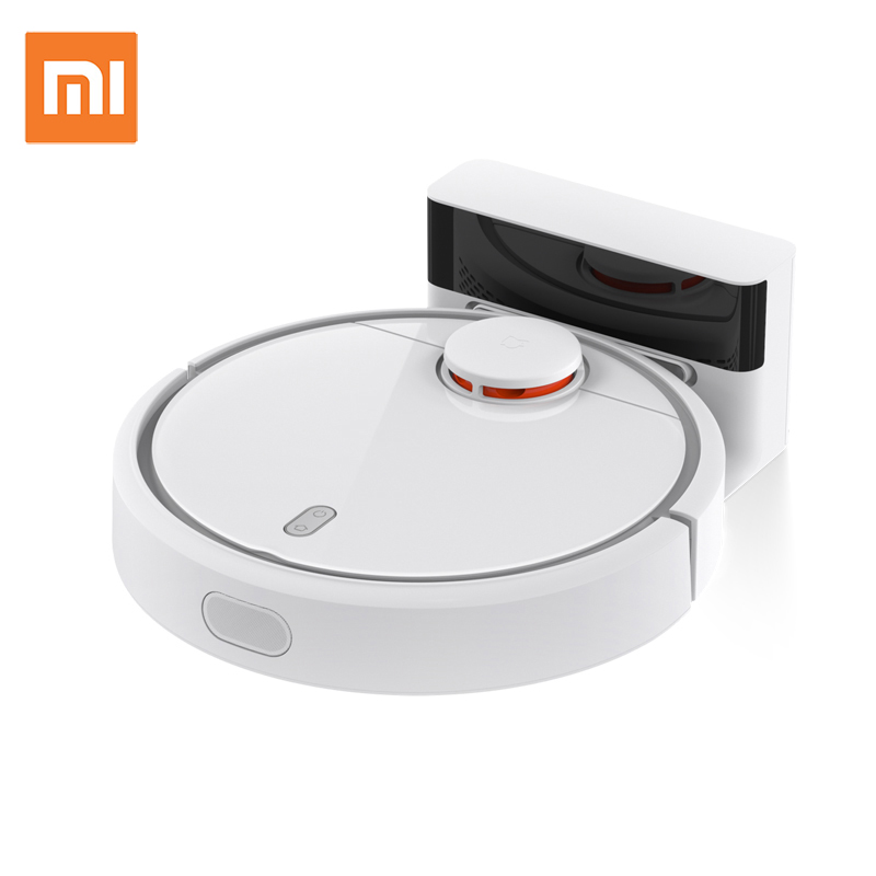 2018 Original Xiaomi MI Robot Vacuum Cleaner for Home Automatic Sweeping Dust Sterilize Smart Planned Mobile App Remote Control original xiaomi mi yeelight e27 8w white led smart light bulb smartphone app wifi control 220v