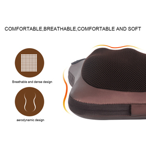 Image 4 - Neck Massager Car Home Cervical Shiatsu Massage Neck Back Waist Body Electric Multifunctional Massage Pillow Cushion