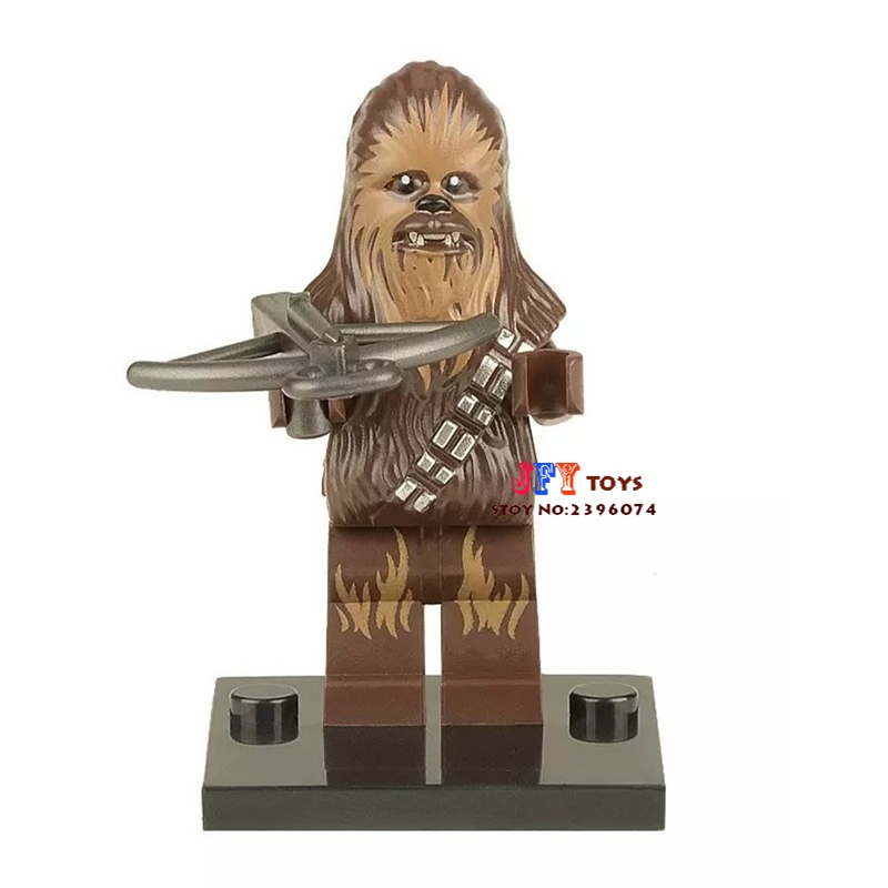 Single Sale star wars superhero Force Awakens Chewbacca building blocks model bricks toys for children brinquedos menino 5 60vdc to 3 32vdc 40a ssr 40dd solid state relay module with plastic cover