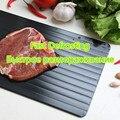 Волшебный поддон для быстрого размораживания продуктов  поддон для размораживания мяса  разделочная доска для размораживания продуктов в ...