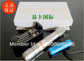 Powerful 3000mW 532nm focusable green laser pointer flashlight burning laser torch BURN matches,pop balloon+charger+gift box