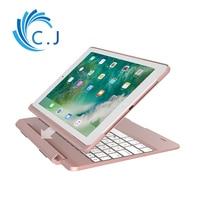 Ultrathin portable Wireless Bluetooth Keyboard case cover for iPad Pro 9.7,Apple ipad 2018 keyboard, 2017 iPad,iPad air1/air2