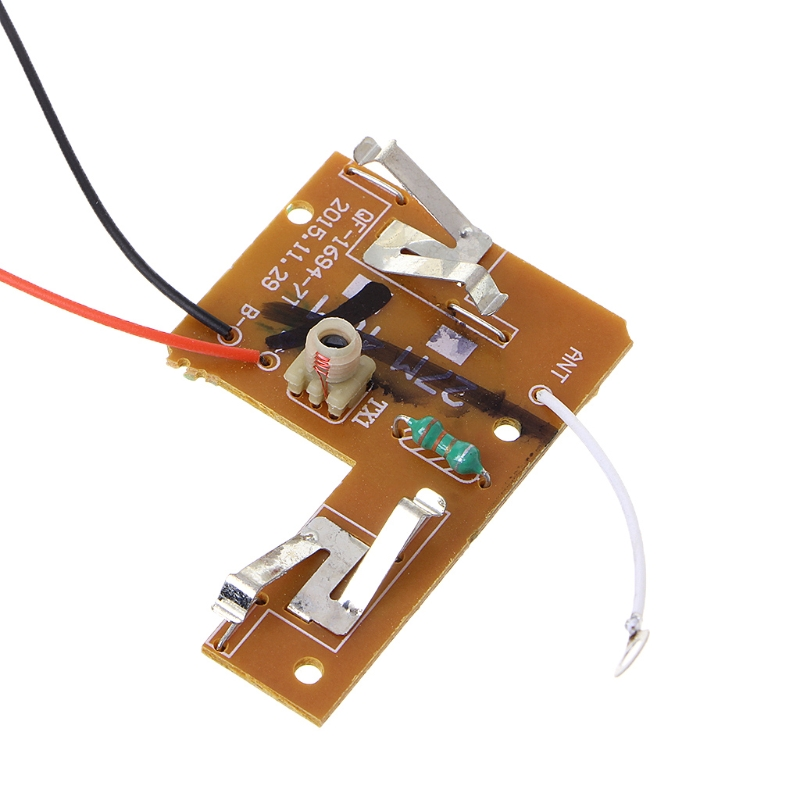 4CH <font><b>40MHZ</b></font> with Antenna for DIY RC Car Robot <font><b>Remote</b></font> Transmitter & Receiver Board image