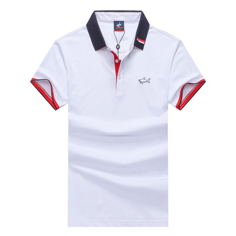 polo   shirt men Cotton Tace&shark   Polo   shirt New 2019 Quality Embroidery Men's   Polo   shirt Fashion men clothing Free shipping