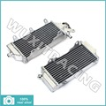 L/R New Aluminium Cores MX Offroad Motorcycle Radiators Cooling For Yamaha YZF250 YZ450F 14 15
