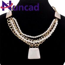 Wholesale Alloy Rhinestone Crystal Stone Retro Charm Jewelry Necklace For Women Luxury Necklace jewelry Party