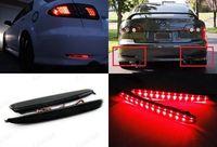 Black Smoked Lens LED Bumper Reflector Tail Brake Stop Light 03 08 For Mazda 6 Mazda6
