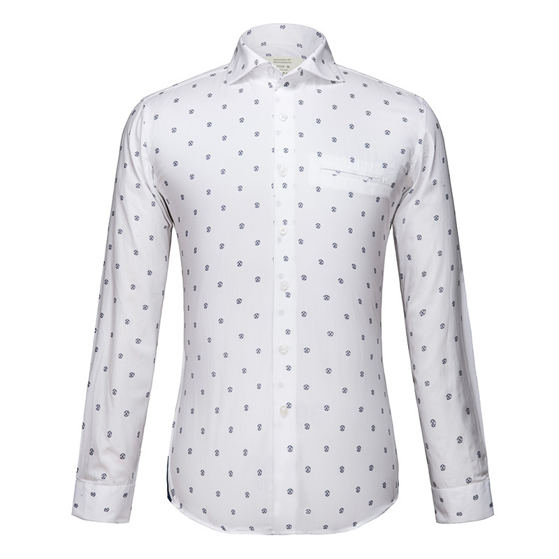 Online Get Cheap White Long Sleeve Floral Shirt for Men ...