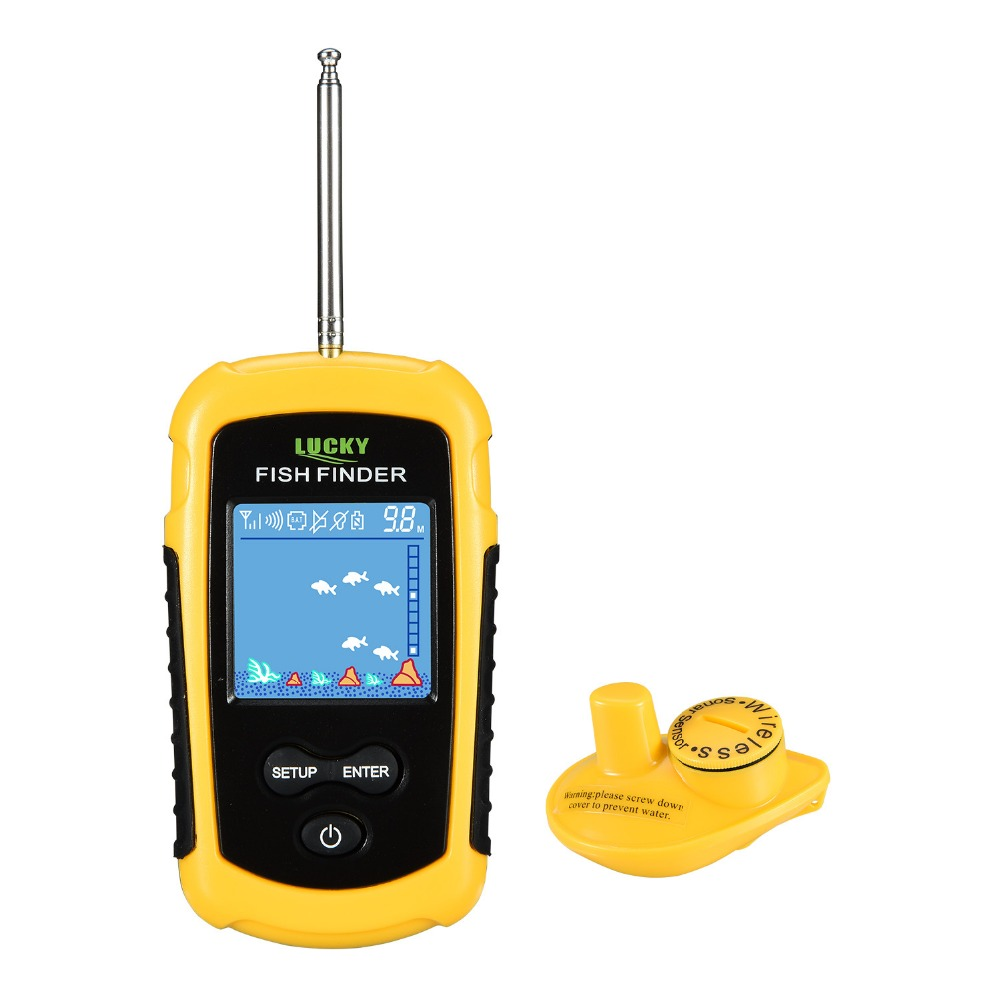 Handheld Wireless Sonar Findfish Deeper Lure Fish finder with color LCD Display findfish Ocean Lake Finderfish Locator Lurfinder
