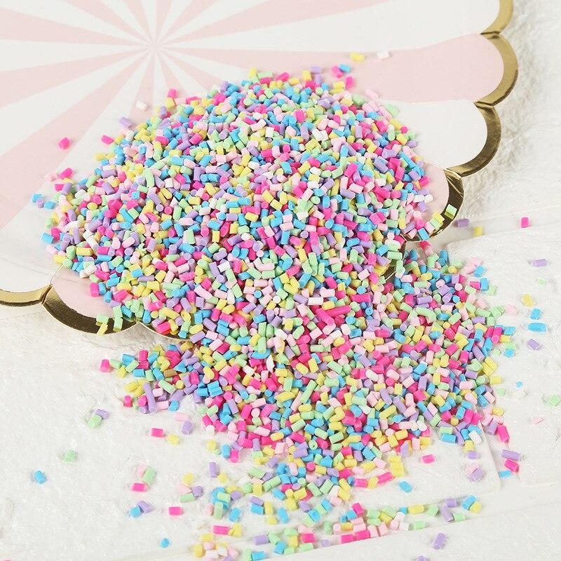 20g DIY Polymer Clay Fake Candy Sweets Sugar Sprinkle