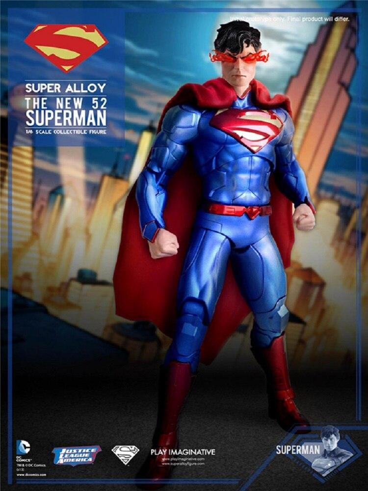 DC Comics NEW 52 Superhero Superman Play Imaginative PI Collectible Figure  Model ToyDC Comics NEW 52 Superhero Superman Play Imaginative PI Collectible Figure  Model Toy