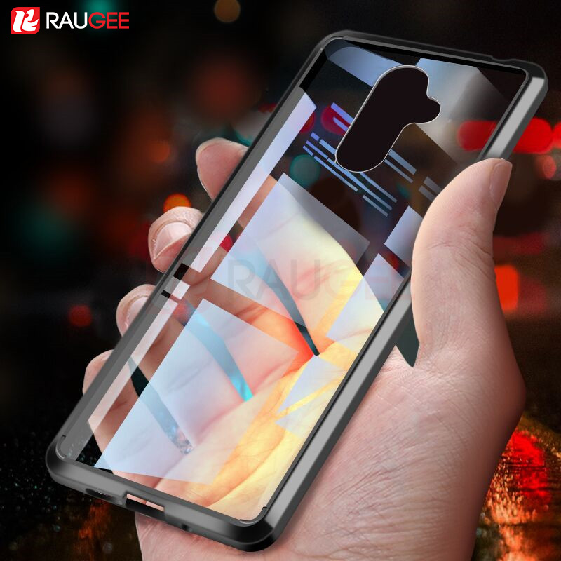 Transparent Case For Nokia 7 Plus Bumper Case 7Plus Clear Cover Shockproof Soft TPU Silicon Hard PC Protector Phone Cover