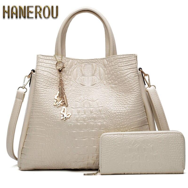 67b44816f7 Fashion PU Leather Big Shoulder Bags 2017 Brand Women Bag High Quality  Ladies Handbags Tote Bag
