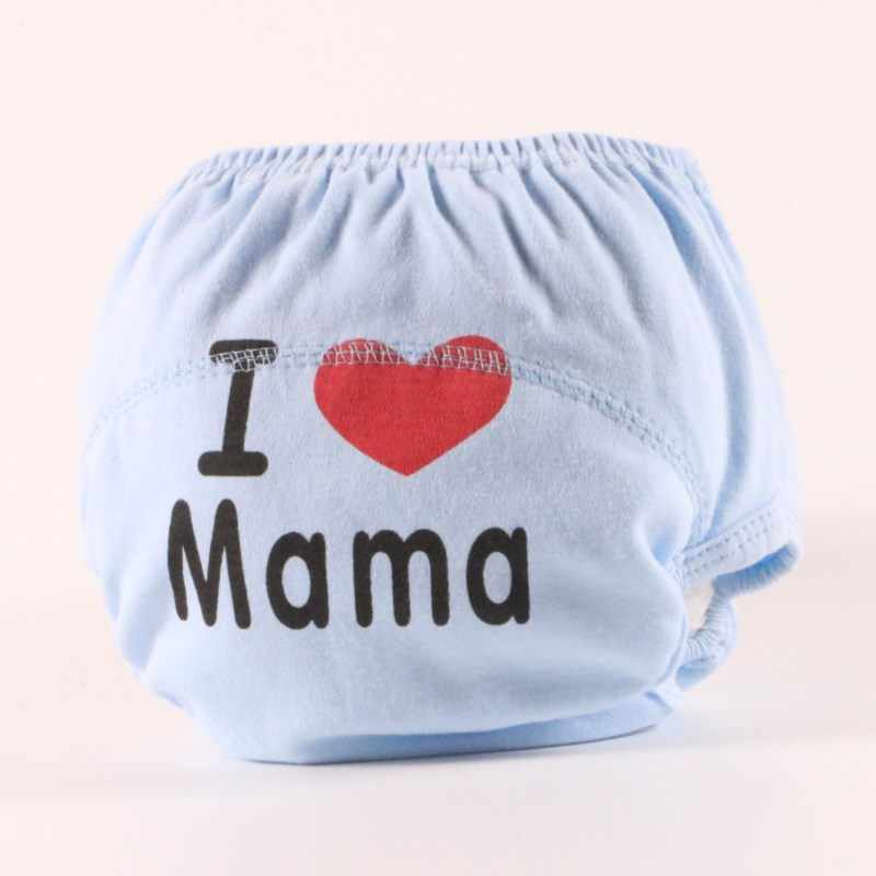 10pcs/lot Pa&maLearning Pants Baby Diaper Cloth Diapers Washable Diapers  Cover Disposable Suit 9-14kg