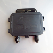 250 W-350 W распределительная коробка питания от солнечной панели водонепроницаемый IP65 для Панели солнечные подключатель солнечной панели подключение кабеля с 6 диод