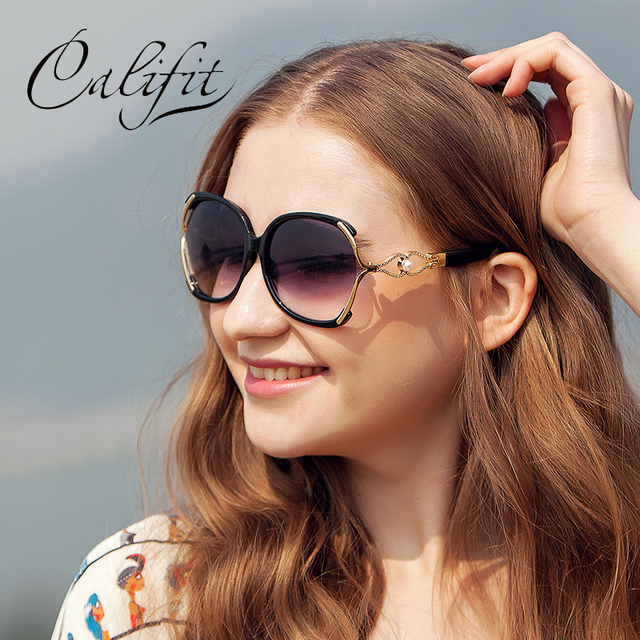 648933583823 CALIFIT Ladies Vintage Butterfly Sunglasses Women Party Ponit Oversized  Luxury Brand Designer Shades 2018 New Sun