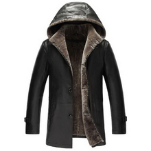 cotton sheep skin/Men Genuine Leather skin clothes /100% wool /Stand  collar /Hooded/ leather jacket coat /big size/6XL/tb231004