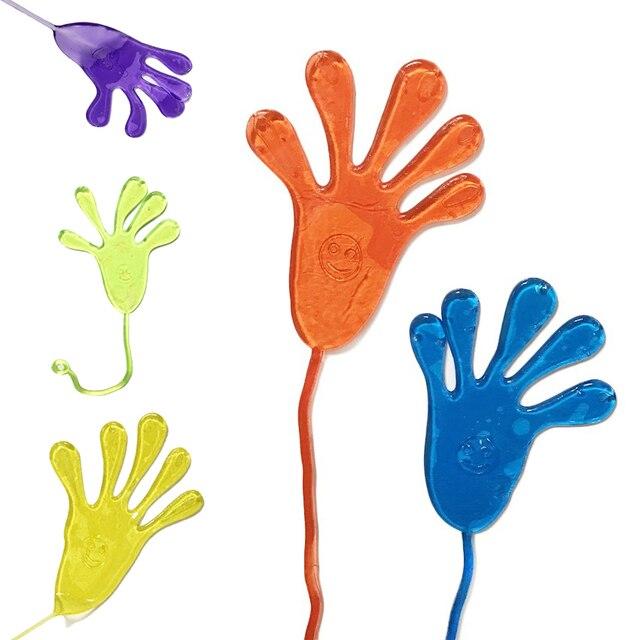 10 cái Chú Ý Hands Tát Squishy Đồ Chơi Chơi Pinata Chất Độn Món Quà Sinh Nhật Điều Trị Túi Ủng Hộ Đám Cưới và Quà Tặng Đảng Đảng Favors nguồn cung cấp