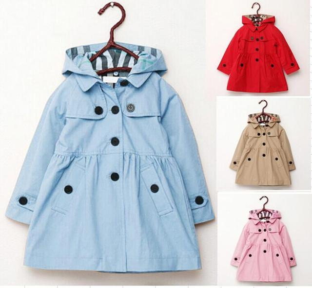 Kids Girl Clothes Children Fashion Coat 2017 Autumn Spring Outwear kids Jackets Winter jacket Childrens Clothing girls