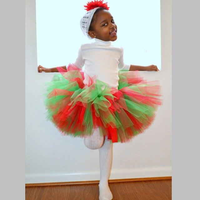 9d62f1340 € 14.59  Hecho a mano Más Nuevo Tul Mullido Navidad Niños Niños Niñas Tutu  Falda Linda Princesa de Baile Fiesta de Cumpleaños Del Bebé Tutús ...