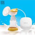 Single USB BPA Free Electric Breast Pump Powerful Nipple Suction Breast Pumps Mom Love With 180ML Feeding Bottle
