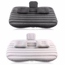 Colchón para respaldo de cama inflable de coche de ultramar para asiento, cama de aire para descanso, para viaje, Camping, sofá inflable, cojín, accesorios para coche