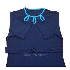 Image 2 - YONGSEN maillot de bain Hijab, grande taille, vêtements de plage pour femmes, style islamique, nouvelle collection, maillot de bain musulman