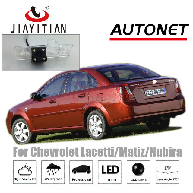 US $19 93 31% OFF|JiaYiTian Rear View camera For Chevy Chevrolet  Lacetti/Matiz/Nubira CCD Night Vision Backup Parking Camera license plate  camera-in