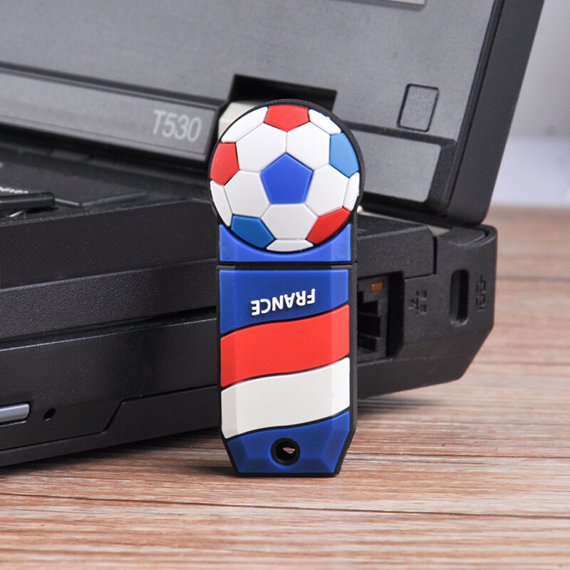 Football Usb Flash Drive Pen Drive Usb 2.0 Real Capacity Pendrive 4gb 8gb 16gb 32gb 64gb 128gb U Disk Memory Stick Free Shipping  7