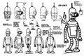 Bender Futurama Gráfico Dos Desenhos Animados do cartaz da arte tecido pano de seda parede poster print