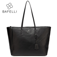 BAFELLI Autumn And Winter Newest Genuine Leather Shoulder Bag Womens Work Casual Versatile Tote Bolsa Feminina