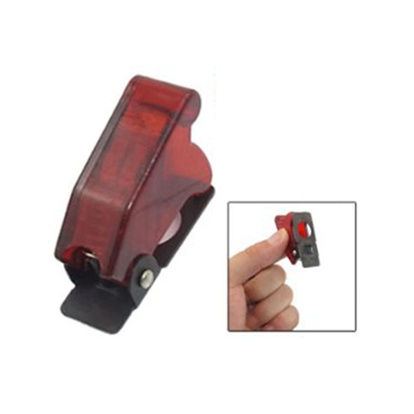 1 PC  New 12mm Mini  Red Toggle Switch Waterproof Boot Plastic Safety Flip Cover Cap
