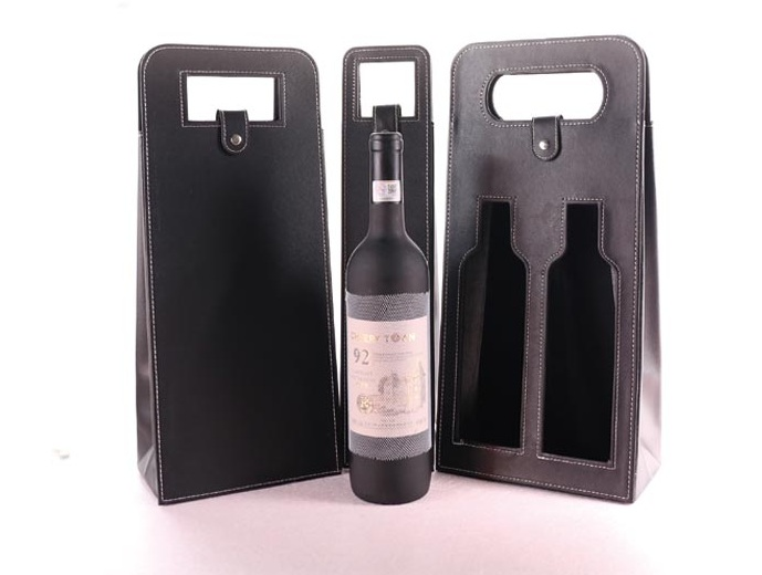 pu leather wine storage bag for two bottles high end wine packing bag-in Storage Bags from Home u0026 Garden on Aliexpress.com | Alibaba Group  sc 1 st  AliExpress.com & pu leather wine storage bag for two bottles high end wine packing ...