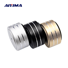 AIYIMA 4Pcs 40*20mm Speaker Spikes Foot Pads Active Speakers Case Shock Speaker Repair Parts Accessories DIY For Home Theater