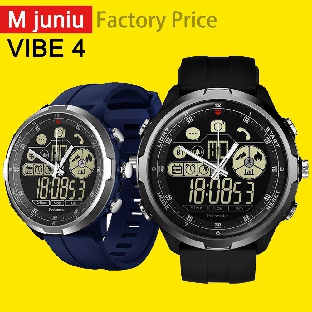 Zeblaze Vibe 4 HYBRID Smart Watch Men Women Smartwatch Waterproof 24-Month Standby Time 24h All-Weather Monitoring